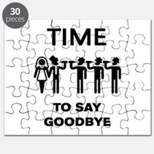 Time To Say Goodbye (Team Groom / Stag Part Puzzle