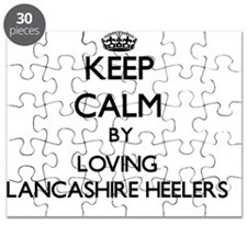 Keep calm by loving Lancashire Heelers Puzzle