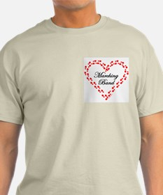 Red Marching Band Heart T-Shirt