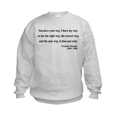 Nietzsche 1 Sweatshirt