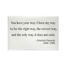 Nietzsche 1 Rectangle Magnet