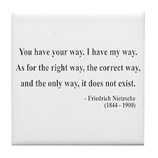 Nietzsche 1 Tile Coaster