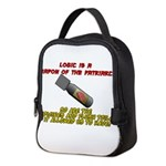 Patriarchy logic bomb Neoprene Lunch Bag