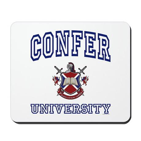 CONFER University Mousepad