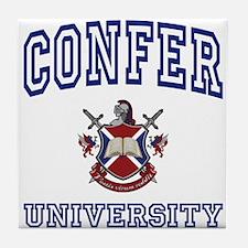 CONFER University Tile Coaster