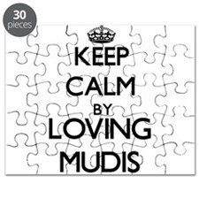 Keep calm by loving Mudis Puzzle