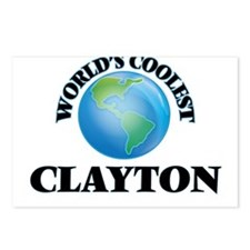 World's Coolest Clayton Postcards (Package of 8)