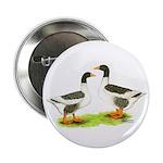 Pomeranian Geese Button