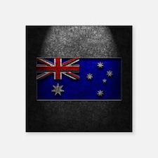 Australian Flag Stone Texture Sticker