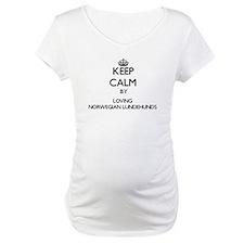 Keep calm by loving Norwegian Lu Shirt