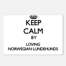 Keep calm by loving Norwe Postcards (Package of 8)