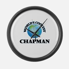 World's Coolest Chapman Large Wall Clock