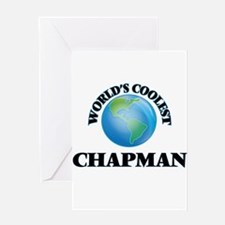 World's Coolest Chapman Greeting Cards
