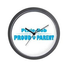 Pixie-Bob Parent Wall Clock