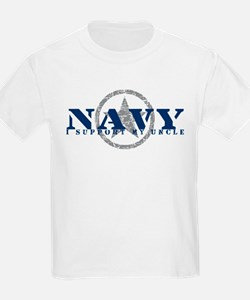 Navy - I Support My Uncle T-Shirt
