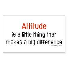 Attitude Rectangle Decal
