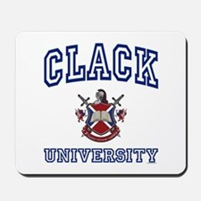CLACK University Mousepad