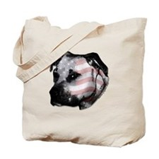 DISTINGUISHED PIT BULL HEAD Tote Bag