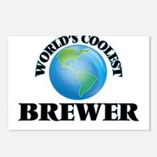 World's Coolest Brewer Postcards (Package of 8)