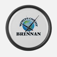 World's Coolest Brennan Large Wall Clock