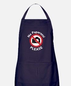 No Paparazzi Please Apron (dark)