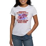 Bush Kicking Ass World Tour Women's T-Shirt