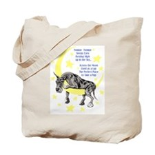Great Dane Merle Twinkle Tote Bag