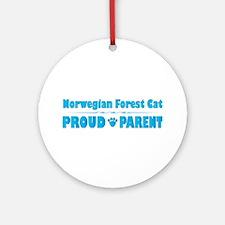 Wegie Parent Ornament (Round)