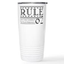 12 step recovery program Travel Mug