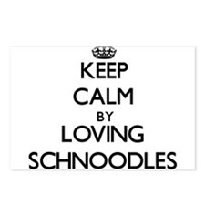 Keep calm by loving Schno Postcards (Package of 8)