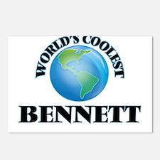World's Coolest Bennett Postcards (Package of 8)