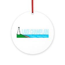 Lake Champlain Ornament (Round)