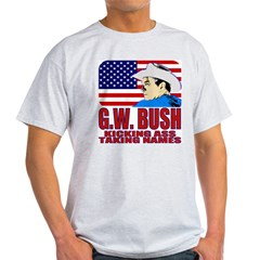 Kicking Ass World Tour (F/B) Ash Grey T-Shirt