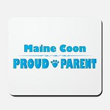 Maine Coon Parent Mousepad