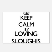 Keep calm by loving Sloug Postcards (Package of 8)