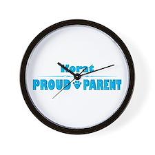 Korat Parent Wall Clock