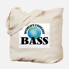 World's Coolest Bass Tote Bag