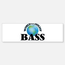 World's Coolest Bass Bumper Bumper Bumper Sticker