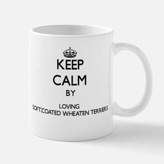 Keep calm by loving Soft-Coated Wheaten Terri Mugs