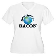 World's Coolest Bacon Plus Size T-Shirt