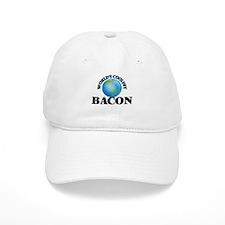 World's Coolest Bacon Baseball Cap