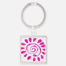 Dazzled Wild Spiral Keychains