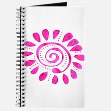 Dazzled Wild Spiral Journal