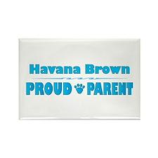 Havana Parent Rectangle Magnet