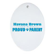 Havana Parent Oval Ornament