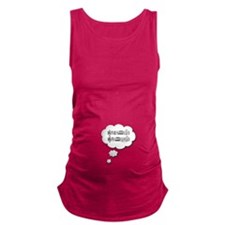 Baby Beethovens Fifth 5 Maternity Tank Top