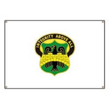 USA 22nd Military Police Battalion Banner