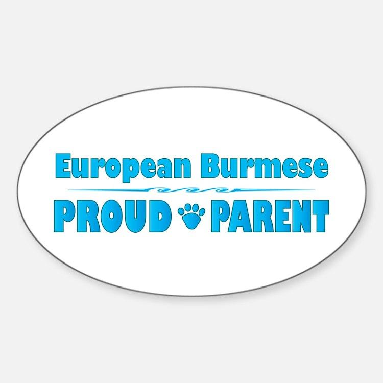 Burmese Parent Oval Decal