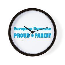 Burmese Parent Wall Clock