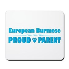 Burmese Parent Mousepad